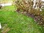På baksidan har jag planterat nytt gräs, där jag tidigare hade en stor jordhög. (2005-11-05 IMG_0074)