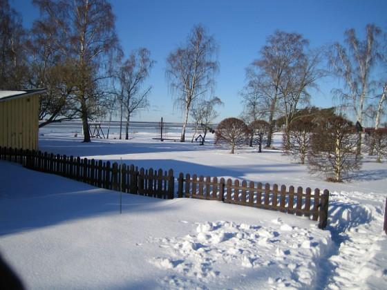 Vinter på Granudden  2006-02-03 Bild 001 Granudden Färjestaden Öland