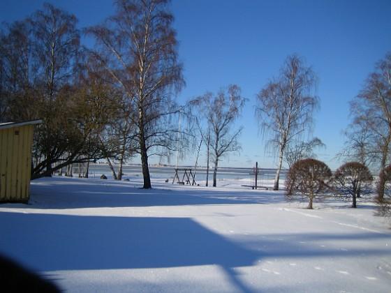 Snötäckt badplats &nbsp 2006-02-03 Bild 002 Granudden Färjestaden Öland