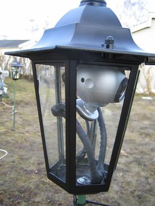 Webbkamera Webbkamera. Webcam.&nbsp 2006-04-01 Bild 008 Granudden Färjestaden Öland