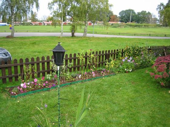 Staket, höger och staket, extra. 2007-10-07 Bild 054 Granudden Färjestaden Öland