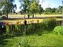 Bild 071 Staketet sett inifrån tomten. 2008-07-04 Bild 071