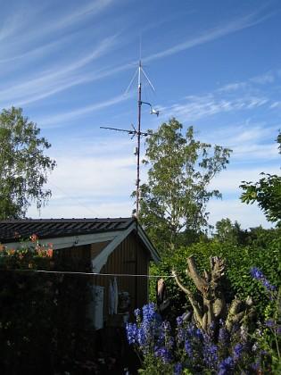 Södra antennmasten  2009-07-17 IMG_0170 Granudden Färjestaden Öland