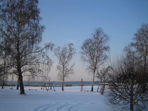 Granudden Utsikt över Kalmarsund.&nbsp 2009-12-20 002 Granudden Färjestaden Öland