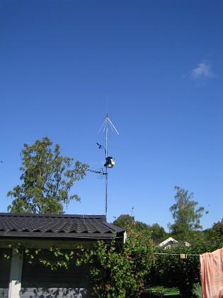 Antenn & Väderstation  2010-06-27 IMG_0066 Granudden Färjestaden Öland