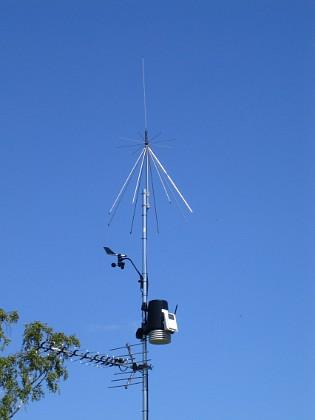 Antenn & Väderstation &nbsp 2010-06-27 IMG_0067 Granudden Färjestaden Öland