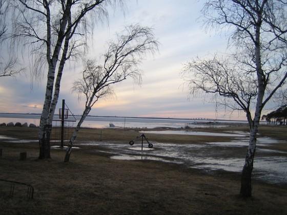 Granudden Det är väl här den vattensjuka marken övergår i översvämning? 2011-03-25 003 Granudden Färjestaden Öland