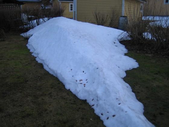 Snövall  2011-03-25 043 Granudden Färjestaden Öland