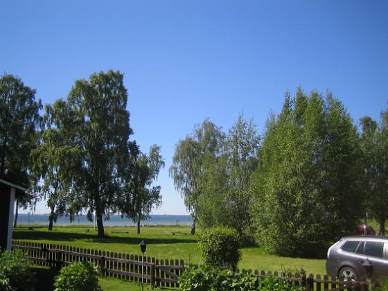 Utsikt Vacker utsikt mot Kalmarsund och Granuddens Badplats. 2015-06-05 IMG_0127 Granudden Färjestaden Öland