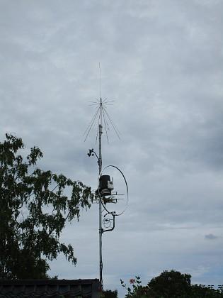 2017-06-22 Antenner och Väderstation Granudden Färjestaden Öland